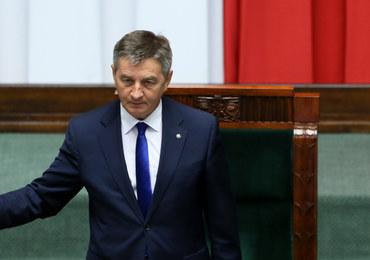 Kuchciński o próbie odwołania go z funkcji marszałka: Szukali zaczepki, odwrócenia uwagi
