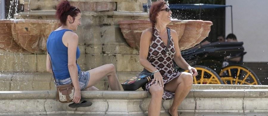 W Hiszpanii utrzymują się rekordowo wysokie jak na wrzesień temperatury; w 14 prowincjach obowiązuje alarm w związku z upałami. W Madrycie temperatura ma sięgnąć w środę 41 stopni Celsjusza.