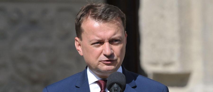 Jesteśmy gotowi pomóc w kontakcie pomiędzy społecznością Polską w Wielkiej Brytanii, w tym Harlow, a policją brytyjską - zapewnił minister spraw wewnętrznych i administracji Mariusz Błaszczak.