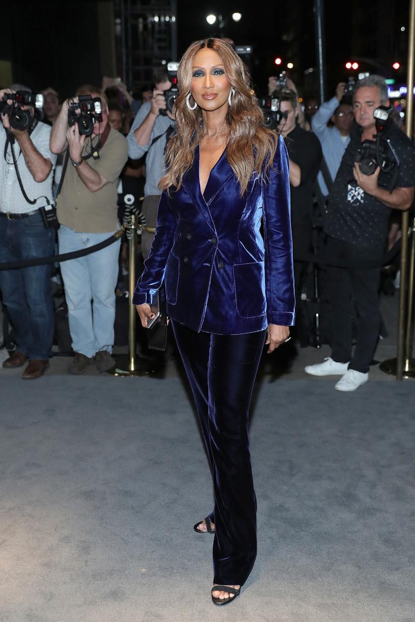 Modelka Iman na początku września przybyła na imprezę Tom Ford's New York Fashion Week. Było to jej pierwsze publiczne pojawienie się po śmierci męża gwiazdy, Davida Bowiego.