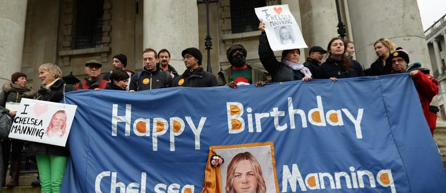 Chelsea Mannig, która odbywa karę 35 lat więzienia za przekazanie demaskatorskiemu portalowi Wikileaks setek poufnych dokumentów dyplomacji USA, ogłosiła strajk głodowy. Protestuje w ten sposób przeciwko jej traktowaniu.