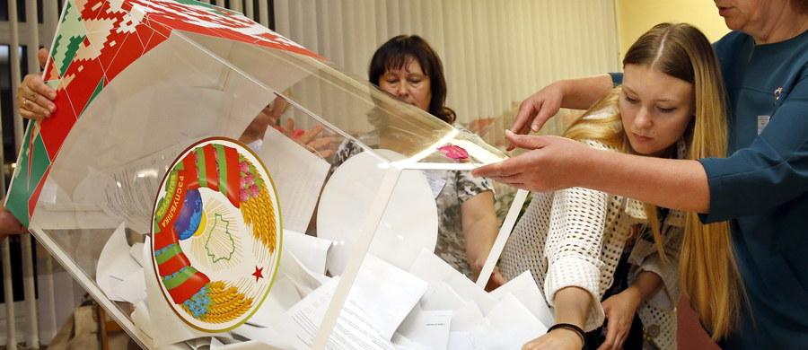 Przedstawicielka opozycji po raz pierwszy od 20 lat trafiła do niższej izby parlamentu Białorusi, Izby Reprezentantów w niedzielnych wyborach – wynika ze wstępnych danych Centralnej Komisji Wyborczej podanych w nocy z niedzieli na poniedziałek.