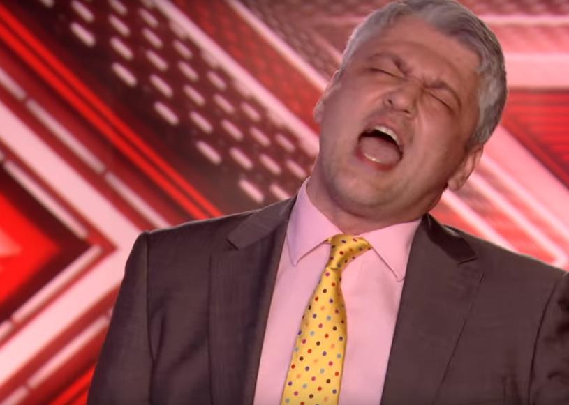 """Ponad 100 tys. odsłon zdobył już filmik z występem 40-letniego pana Zbyszka z Polski w brytyjskim """"X Factor"""". Zobaczcie sami!"""