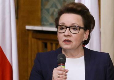 Anna Zalewska przedstawiła plan reformy oświaty. 8-letnie podstawówki, 4-letnie licea