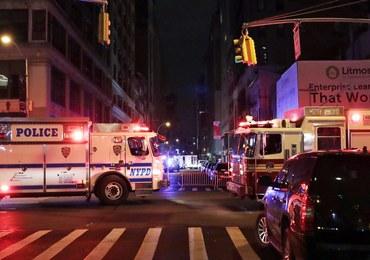 Eksplozja w Nowym Jorku: Nie ma dowodu na powiązania z terroryzmem
