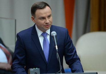 Andrzej Duda: Nie możemy przymykać oczu na krwawe pieniądze, które krążą po świecie
