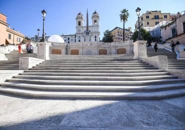 Schody Hiszpańskie w Rzymie odzyskały blask i splendor