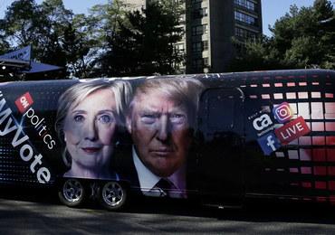 Przewaga Clinton nad Trumpem w sondażach stopniała niemal do zera