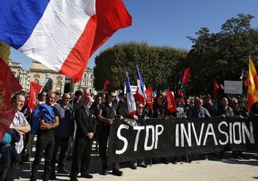 Francuzi nie chcą uchodźców. Protesty przeciw przenoszeniu migrantów z Calais