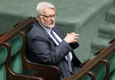 Waszczykowski: Znalazłem dokumenty, które pokazują jak od 2008 roku grano interesem Polski