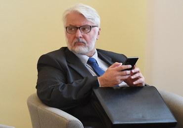 Waszczykowski rozmawiał z szefem MSZ Francji. M.in. o śmigłowcach