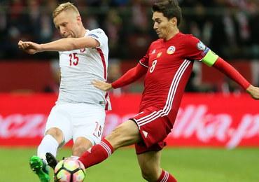El. MŚ 2018: Polska pokonuje Armenię 2:1. Bramka Lewandowskiego w ostatniej minucie!