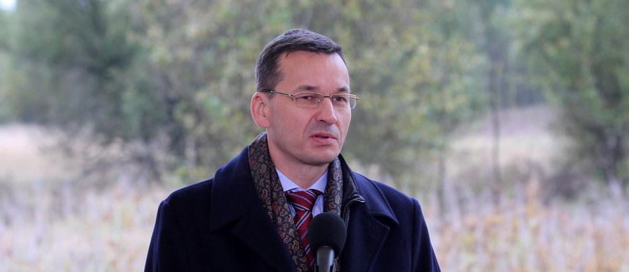 """Lepiej dla Polski byłoby nie wchodzić do strefy euro na tym etapie konwergencji - stwierdził wicepremier Mateusz Morawiecki. Jak powiedział, Polska może wejść do strefy euro w ciągu 5-10 lat """"jeśli wszystko pójdzie fantastycznie""""."""