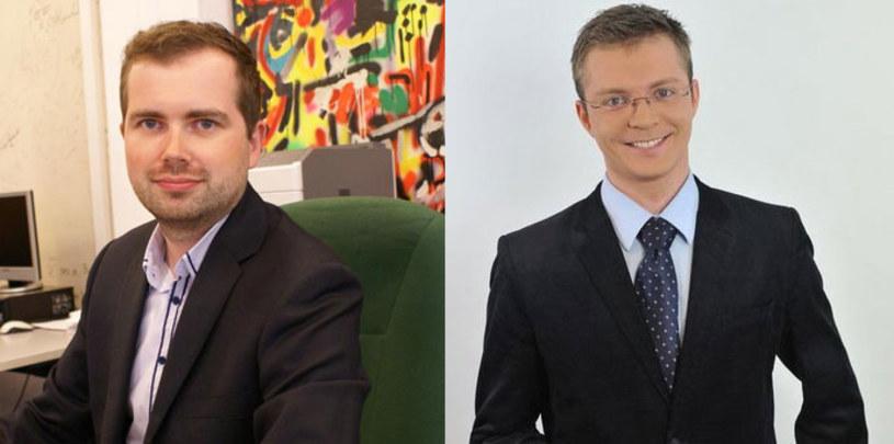"""Dwaj reporterzy """"Teleexpressu"""" - Krzysztof Nakonieczny i Tomasz Frankowski - poinformowali na Twitterze, że TVP podziękowała im za współpracę."""