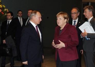 Putin w Berlinie: Mapa drogowa dla Ukrainy i twarda rozmowa o Syrii