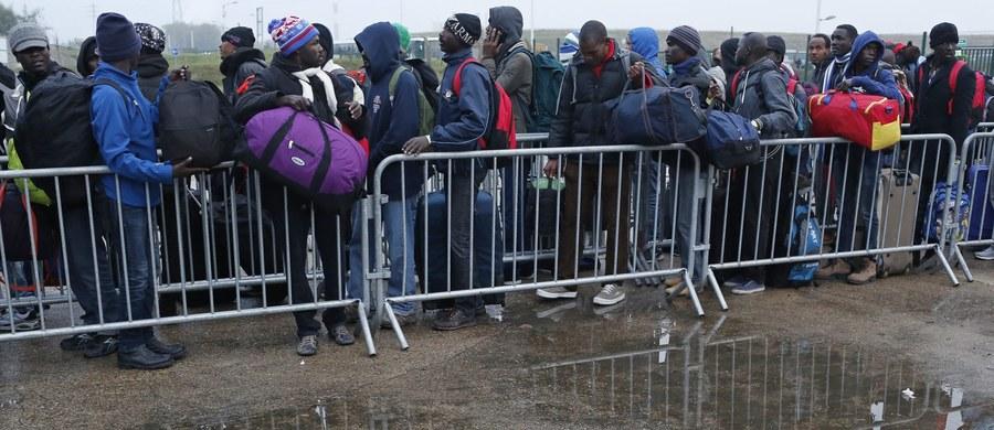 """Kolejny autobus z dziećmi z Calais dotarł do Londynu. Prawdopodobnie to ostatni, który do Wielkiej Brytanii przyjechał z """"nowej dżungli"""". Trwa likwidowanie obozu dla uchodzców po drugiej stronie kanału La Manche. W ciągu ubiegłego tygodnia na Wyspy wpuszczono 200 najbardziej potrzebujących dzieci. Większość z nich w Wielkiej Brytanii posiada rodziny. Do bliskich dołączą po przesłuchaniu przez służby imigracyjne."""
