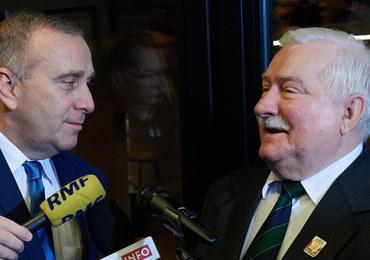 Wałęsa i Schetyna będą stale współpracować. Cel - odsunięcie od władzy PiS