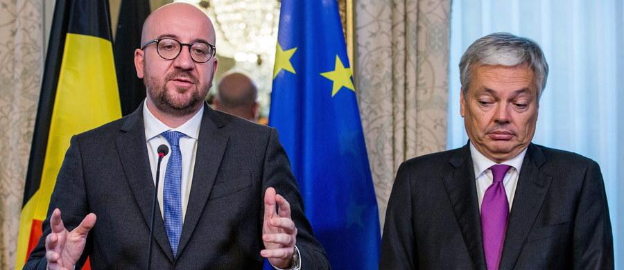 """Belgowie podejmują nową próbę przełamania impasu w sprawie umowy handlową z Kanadą. Wkrótce w gabinecie ministra spraw zagranicznych Didiera Reyndersa spotkają się przedstawiciele władz regionalnych i federalnych w Belgii. Wczoraj na podobnym posiedzeniu podjęto decyzję o odrzuceniu umowy. """"Nasze stanowisko jest jasne, na tym etapie nie możemy CETA podpisać"""" – mówił premier Belgii, Charles Michel i to samo zakomunikował wczoraj przewodniczącemu Rady Europejskiej Donaldowi Tuskowi."""