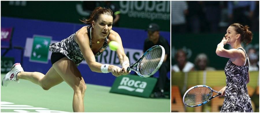 Agnieszka Radwańska pokonała Czeszkę Karolinę Pliskovą 7:5, 6:3 i awansowała do półfinału turnieju WTA Finals! Zmierzy się w nim z liderką rankingu tenisistek, Niemką polskiego pochodzenia Angelique Kerber.