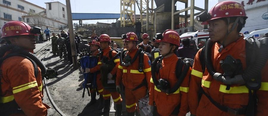 33 górników zostało uwięzionych w kopalni w rejonie miasta Czungcing na południu Chin, w której w poniedziałek przed południem czasu lokalnego doszło do eksplozji gazu - podała chińska agencja Xinhua. Na razie nie wiadomo, w jakim stanie są górnicy.