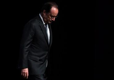 """""""Le Figaro"""": Hollande z najniższymi notowaniami w historii. Tylko 11 proc. Francuzów mu ufa"""