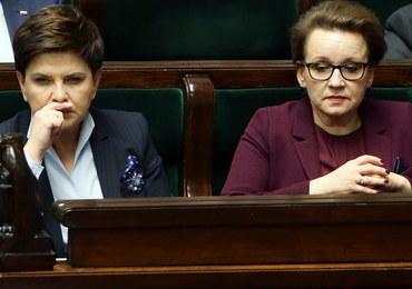 Anna Zalewska zostaje na stanowisku szefowej MEN. Sejm odrzucił wniosek PO