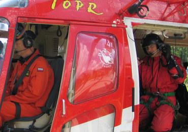 Akcja ratownicza w Tatrach. Utrudniał ją silny wiatr