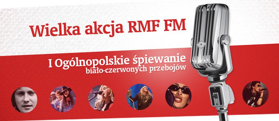 W piątek 11 listopada spotykamy się na Rynku Głównym w Krakowie, by wspólnie z Wami zaśpiewać największe biało-czerwone przeboje. Chcemy w ten sposób muzycznie uczcić Święto Niepodległości. Razem z nami śpiewać będą gwiazdy polskiej estrady. Początek o godz. 15:00. Ale 11 listopada świętować będziemy także w Sulejówku, gdzie Muzeum Józefa Piłsudskiego organizuje piknik historyczny. Od RMF FM będą słodkie ciastka Niepodległościowi.