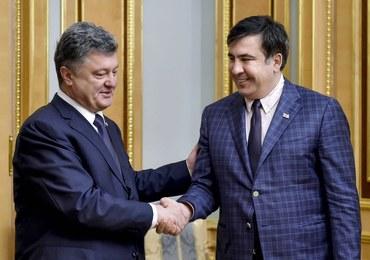 """Saakaszwili podał się do dymisji. """"Prezydent Ukrainy wspiera dwa klany"""""""