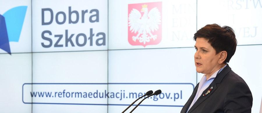 Rząd przyjął projekty ustaw wprowadzających reformę edukacji, w tym zmieniających strukturę szkół w Polsce, m.in. likwidujących gimnazja. Chodzi o dwa projekty ustaw: Prawo Oświatowe i Przepisy wprowadzające Prawo Oświatowe.