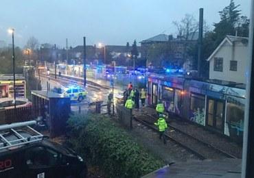 Tragiczny wypadek tramwajowy w Londynie. 7 osób nie żyje, kilkadziesiąt rannych