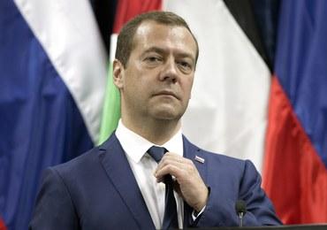 """Miedwiediew potwierdza poparcie dla """"słusznych aspiracji"""" Palestyńczyków"""