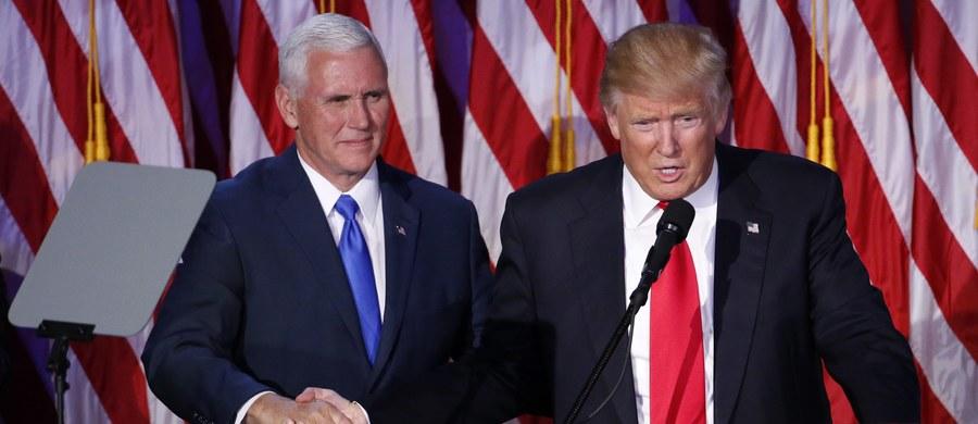 """Zgodnie z decyzją podjętą przez prezydenta elekta Donalda Trumpa już nie gubernator New Jersey Chris Christie, ale wiceprezydent elekt Mike Pence kieruje zespołem przygotowującym przejęcie administracji USA - poinformował w piątek """"New York Times""""."""