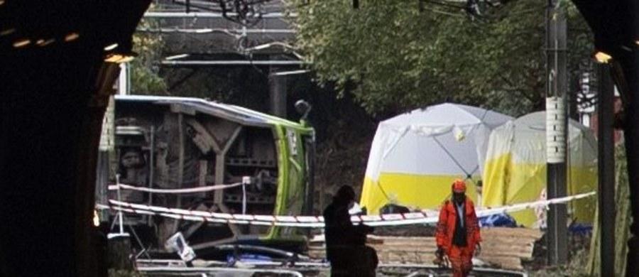 Znamy wstępne ustalenia w sprawie katastrofy tramwaju w południowym Londynie, w której tydzień temu zginęło 7 osób. Wśród ofiar było 35-letnia Polka.