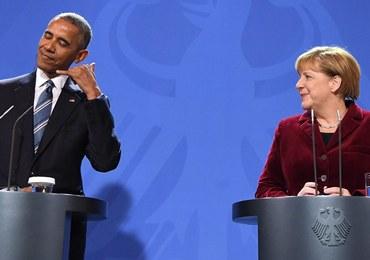Obama: Gdybym był Niemcem, to poparłbym w wyborach Merkel