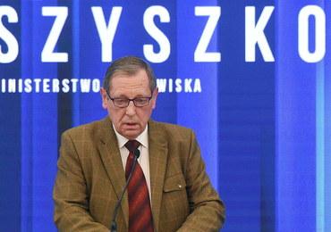 Kłopoty ministra środowiska: Prokuratura zajęła się oświadczeniami majątkowymi Jana Szyszki