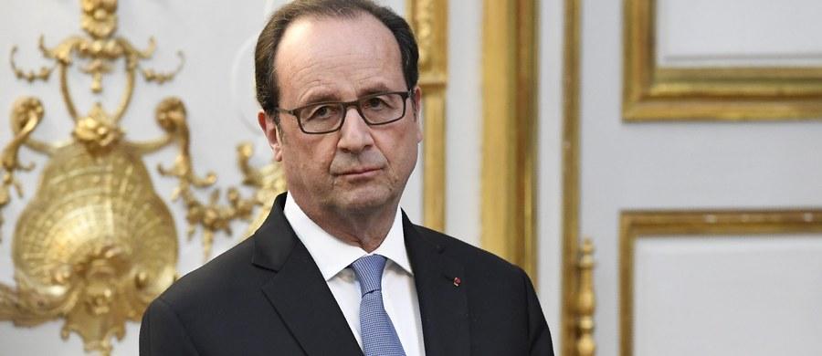 W Francji wybuchła afera z udziałem głowy państwa. Policyjna eskorta prezydenta Francois Hollande'a podejrzana jest o spowodowanie tragicznego wypadku drogowego, w którym zginął 83-letni emeryt. Prokuratura wszczęła w tej sprawie śledztwo.