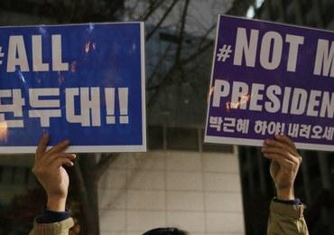 """Prezydent Korei Południowej i jej przyjaciółka """"szamanka"""" zamieszane w skandal korupcyjny"""