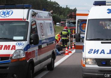 Wypadek w powiecie grójeckim. Nie żyją 4 osoby, jedna trafiła do szpitala