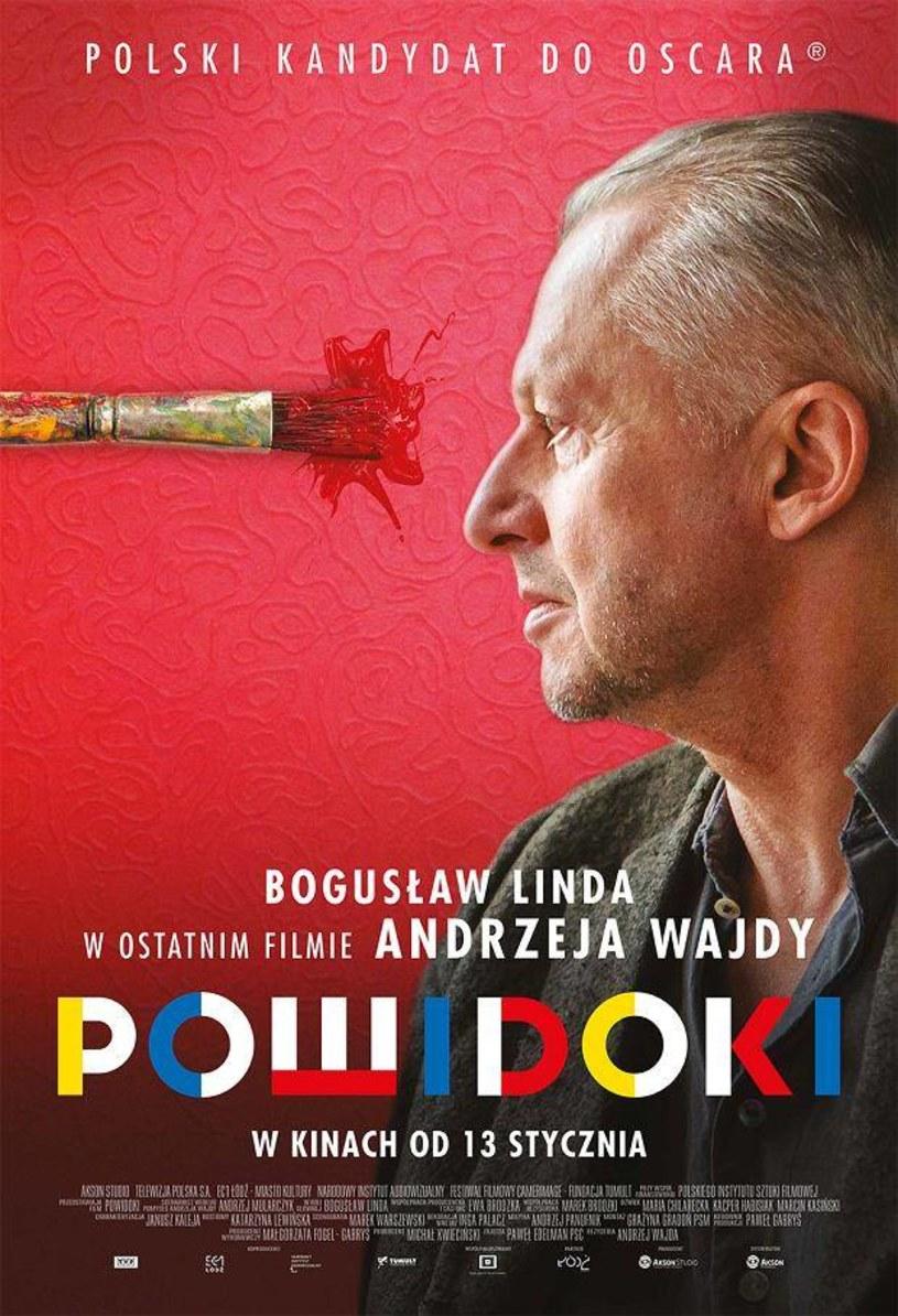 """""""Powidoki"""" - ostatni film Andrzeja Wajdy - trafi na ekrany kin 13 stycznia 2017. Dystrybutor zaprezentował właśnie plakat obrazu."""