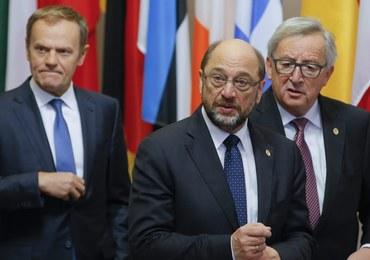 Tusk i Juncker żałują, że Schulz odchodzi. Sami jednak nie zamierzają rezygnować