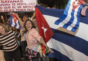 Po śmierci Fidela Castro: Żałoba na Kubie, radość wśród emigrantów z wyspy
