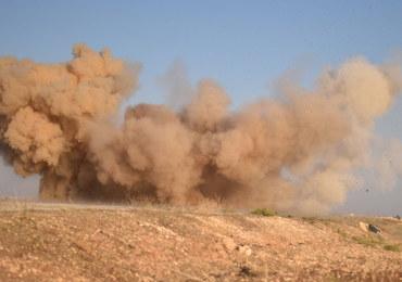 Rebelianci poszkodowani w ataku chemicznym ISIS