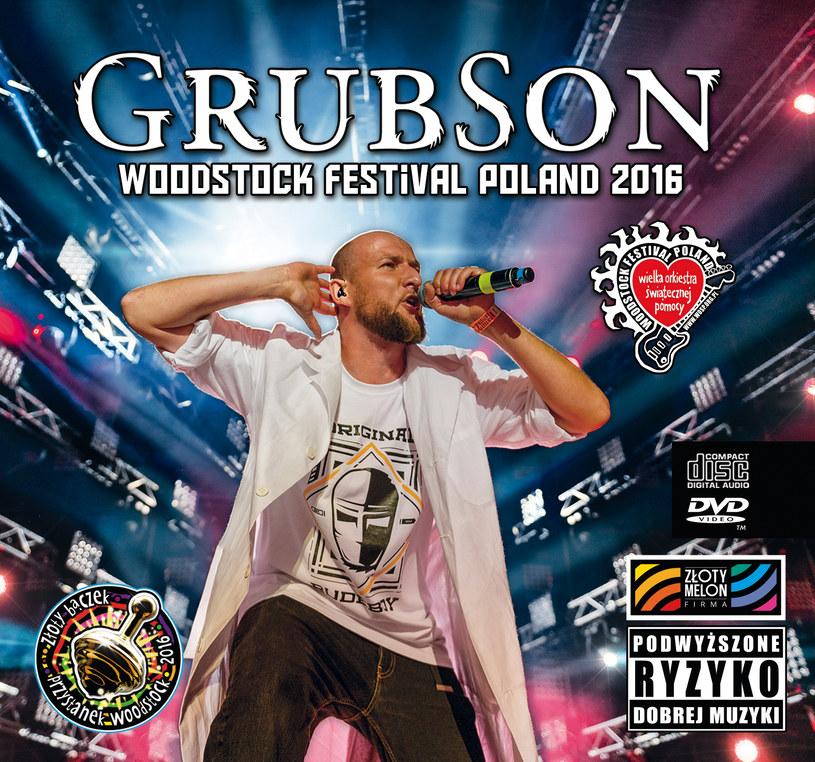 Dyskografia Grubsona powiększyła się o koncertowe wydawnictwo (CD + DVD) z tegorocznego Przystanku Woodstock.