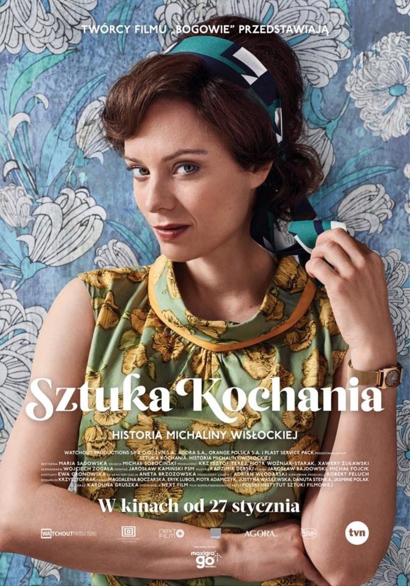 """Biograficzna opowieść o Michalinie Wisłockiej """"Sztuka kochania"""" trafi na polskie ekrany 27 stycznia 2017. Możemy już zobaczyć, jak wygląda oficjalny plakat produkcji, w której w główną rolę wcieliła się Magdalena Boczarska."""
