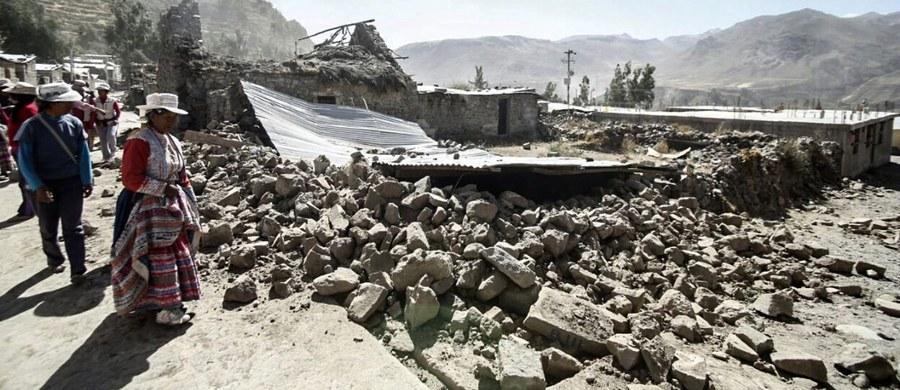Trzęsienie ziemi w południowym Peru. Wstrząsy miały magnitudę 6,3. Uszkodzonych jest wiele budynków. Nie ma informacji o rannych osobach.