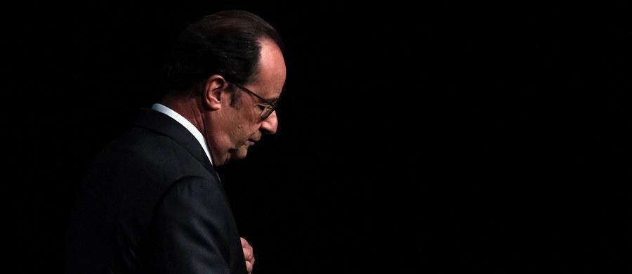 """""""Upadek prezydenta"""", """"Wycofanie się Hollande'a jednogłośnie przyjęte przez całą klasę polityczną"""" - takie tytuły pojawiły się na portalach francuskich mediów po ogłoszeniu przez prezydenta Francois Hollande'a, że nie będzie ubiegał się o reelekcję. Wszystkie gazety podkreślają, że pierwszy raz w historii V Republiki Francuskiej zdarza się, że głowa państwa nie staje przed elektoratem, by walczyć o drugą kadencję."""