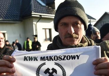 """Górnicy protestowali przed domem Beaty Szydło. """"Martwimy się o miejsca pracy"""""""