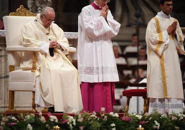 Papież złożył świąteczne życzenia w... języku migowym