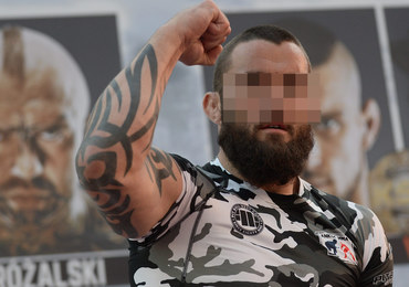 Zawodnik MMA Michał M. zatrzymany przez CBŚP